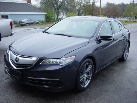 2015 Acura TLX for sale at North South Motorcars in Seabrook NH