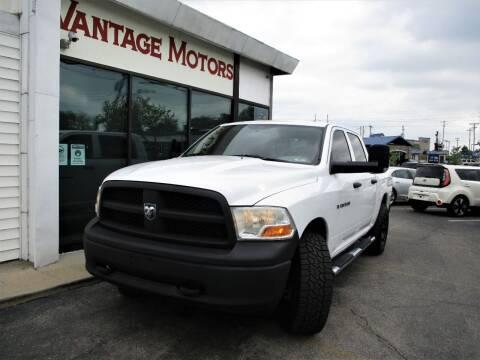 2012 RAM Ram Pickup 1500 for sale at Vantage Motors LLC in Raytown MO