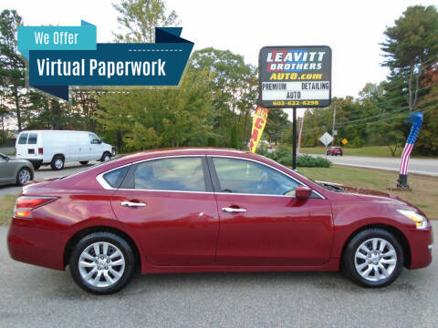 2014 Nissan Altima for sale at Leavitt Brothers Auto in Hooksett NH