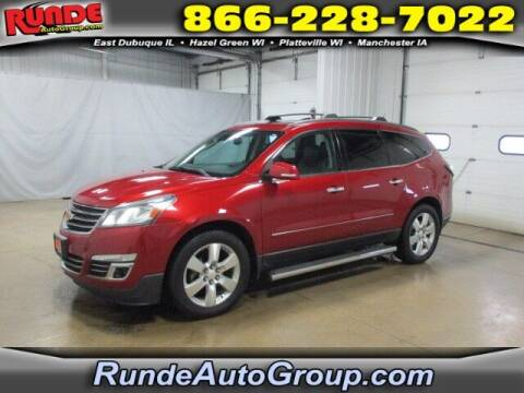 2014 Chevrolet Traverse for sale at Runde Chevrolet in East Dubuque IL