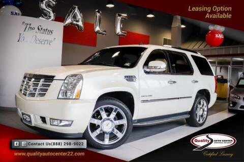 2011 Cadillac Escalade for sale at Quality Auto Center of Springfield in Springfield NJ