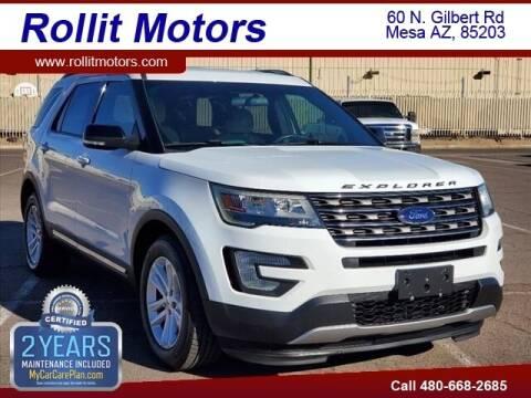 2017 Ford Explorer for sale at Rollit Motors in Mesa AZ