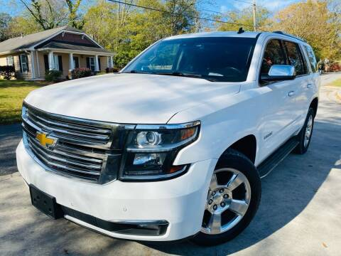 2015 Chevrolet Tahoe for sale at Cobb Luxury Cars in Marietta GA