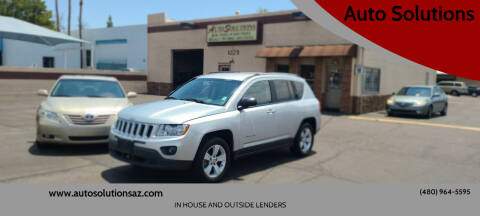 2011 Jeep Compass for sale at Auto Solutions in Mesa AZ