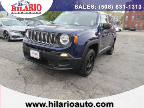 2017 Jeep Renegade for sale at Hilario's Auto Sales in Worcester MA