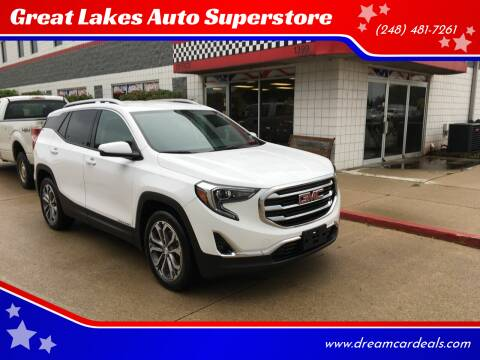 2019 GMC Terrain for sale at Great Lakes Auto Superstore in Waterford Township MI