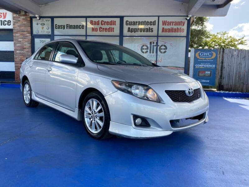 2010 Toyota Corolla for sale at ELITE AUTO WORLD in Fort Lauderdale FL