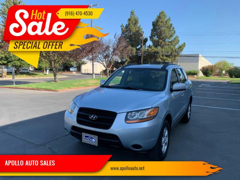 2008 Hyundai Santa Fe for sale at APOLLO AUTO SALES in Sacramento CA