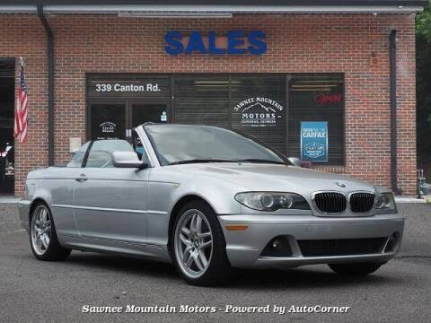 2006 BMW 3 Series for sale at Michael D Stout in Cumming GA
