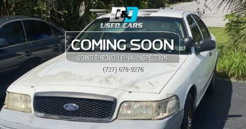 2005 Ford Crown Victoria for sale at D & D Used Cars in New Port Richey FL