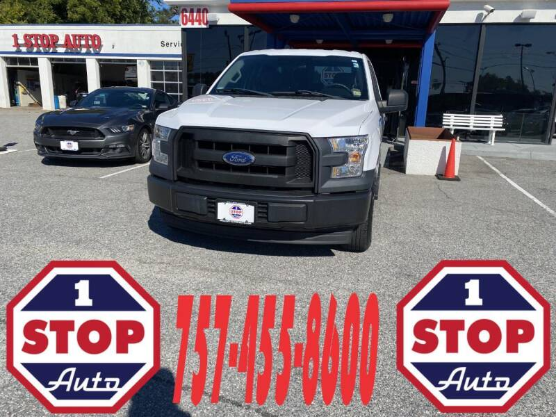 2017 Ford F-150 for sale at 1 Stop Auto in Norfolk VA
