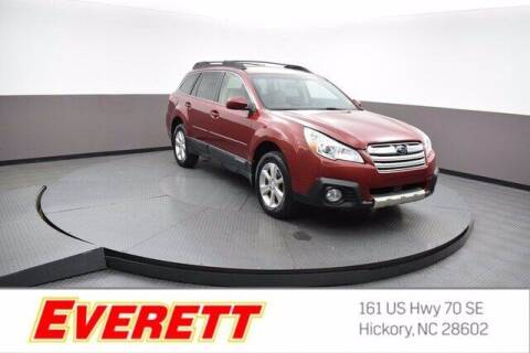 2013 Subaru Outback for sale at Everett Chevrolet Buick GMC in Hickory NC