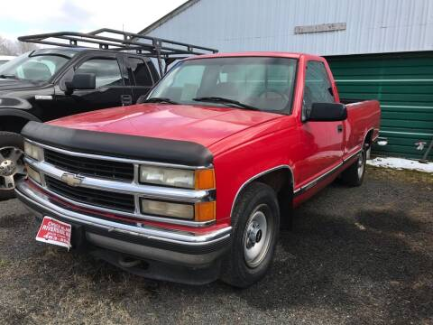 1995 Chevrolet C/K 2500 Series for sale at Riverside Auto Sales in Saint Croix Falls WI