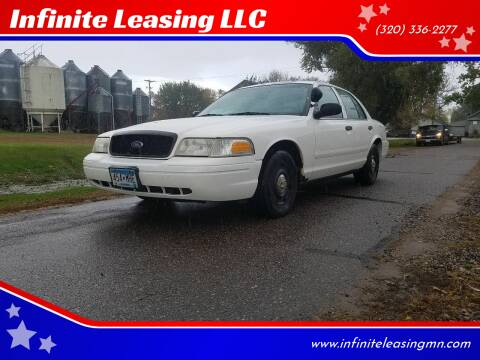2003 Ford Crown Victoria for sale at Infinite Leasing LLC in Lastrup MN