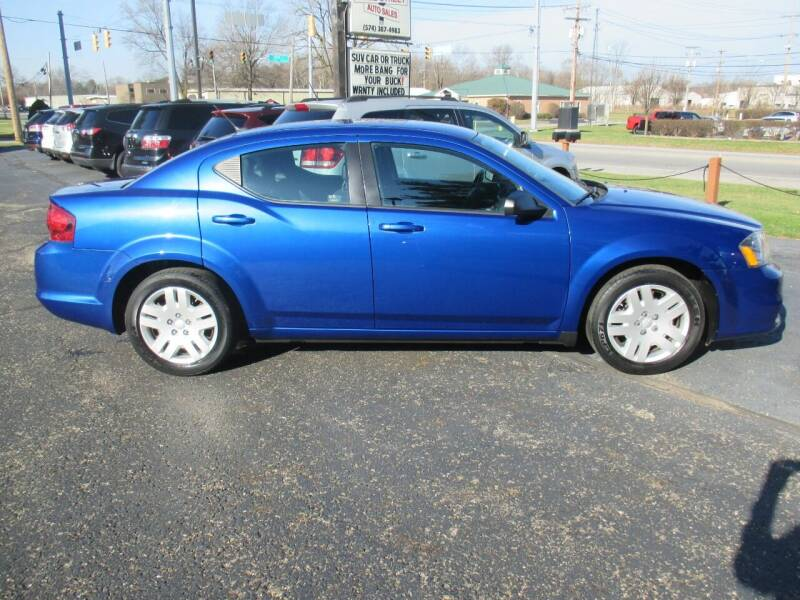 2014 Dodge Avenger for sale at Home Street Auto Sales in Mishawaka IN