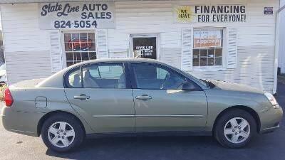 2004 Chevrolet Malibu for sale at STATE LINE AUTO SALES in New Church VA