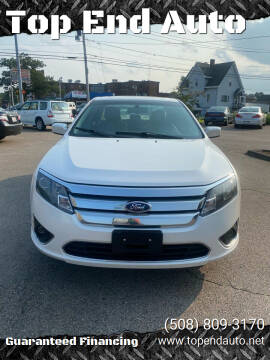2010 Ford Fusion for sale at Top End Auto in North Attleboro MA