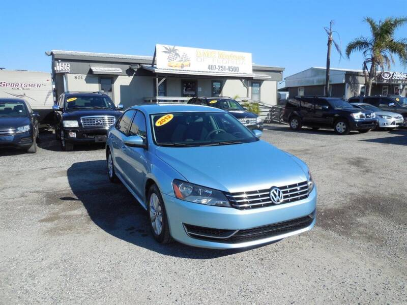 2012 Volkswagen Passat for sale at DMC Motors of Florida in Orlando FL