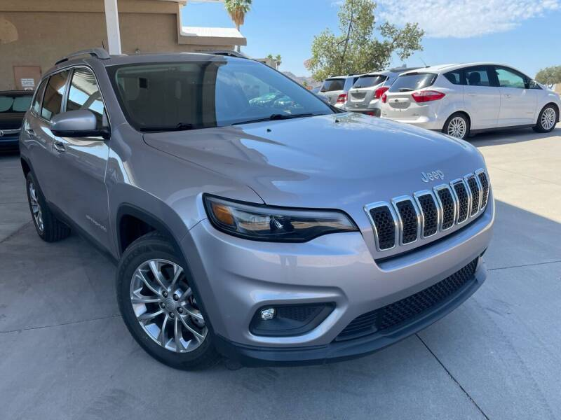 2019 Jeep Cherokee for sale at Carzz Motor Sports in Fountain Hills AZ