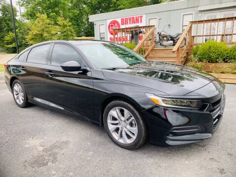 2018 Honda Accord for sale at BRYANT AUTO SALES in Bryant AR
