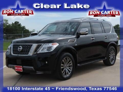 2019 Nissan Armada for sale at Ron Carter  Clear Lake Used Cars in Houston TX