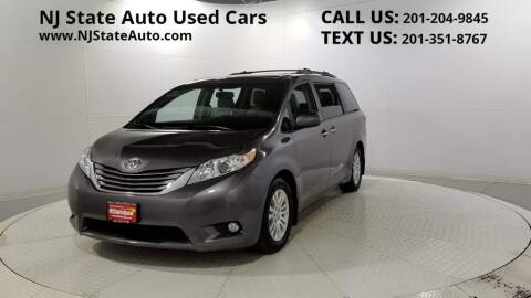 2017 Toyota Sienna for sale at NJ State Auto Auction in Jersey City NJ