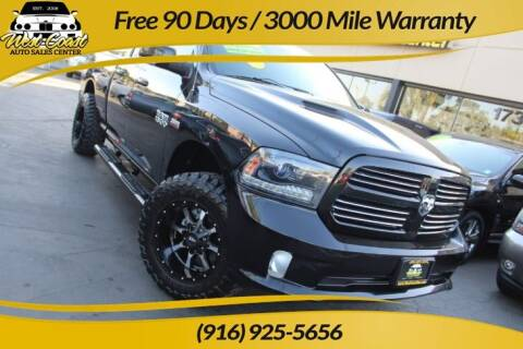 2015 RAM Ram Pickup 1500 for sale at West Coast Auto Sales Center in Sacramento CA