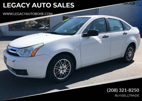 2010 Ford Focus for sale at LEGACY AUTO SALES in Boise ID