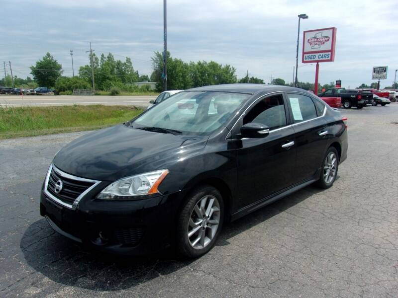 2015 Nissan Sentra for sale at DAVE KNAPP USED CARS in Lapeer MI