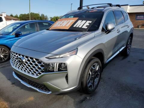 2022 Hyundai Santa Fe for sale at THE TRAIN AUTO SALES & RENTALS in Taylors SC