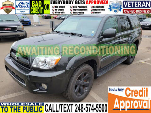 2006 Toyota 4Runner for sale at North Oakland Motors in Waterford MI