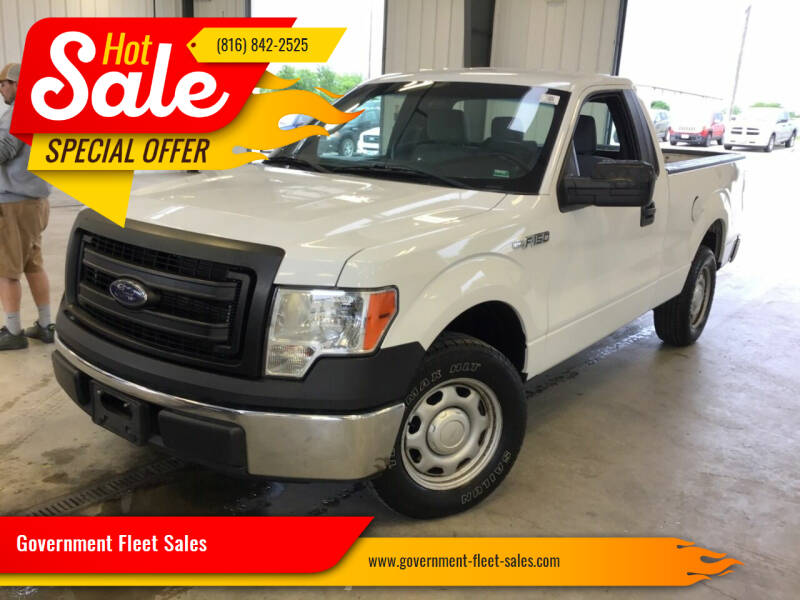 2014 Ford F-150 for sale at Government Fleet Sales in Kansas City MO