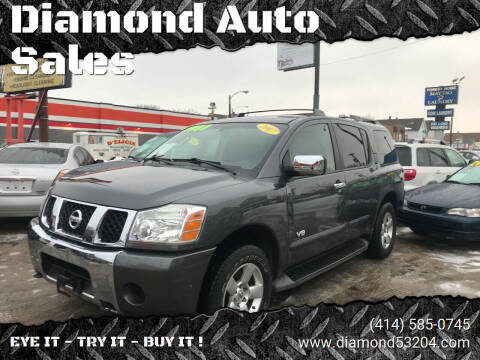 2007 Nissan Armada for sale at Diamond Auto Sales in Milwaukee WI