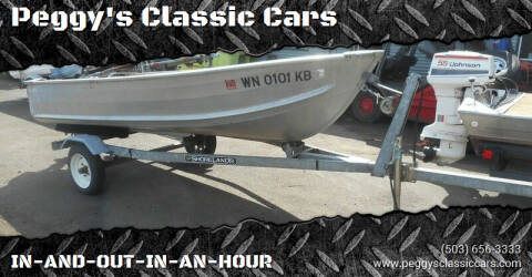 1999 Evinrude 12 for sale at Peggy's Classic Cars in Oregon City OR