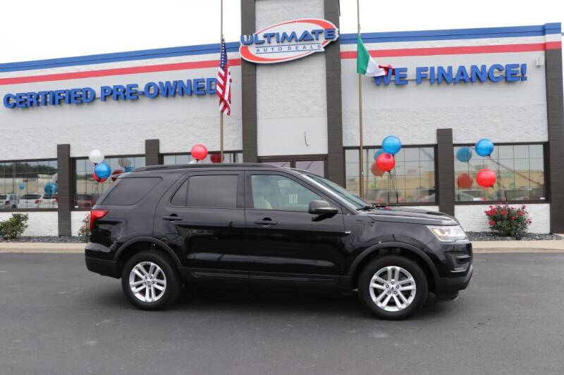 2017 Ford Explorer for sale at Ultimate Auto Deals in Fort Wayne IN