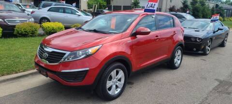 2013 Kia Sportage for sale at Steve's Auto Sales in Madison WI
