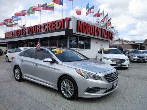 2015 Hyundai Sonata for sale at Giant Auto Mart 2 in Houston TX