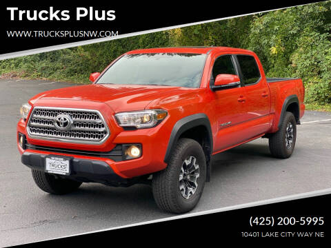 2017 Toyota Tacoma for sale at Trucks Plus in Seattle WA
