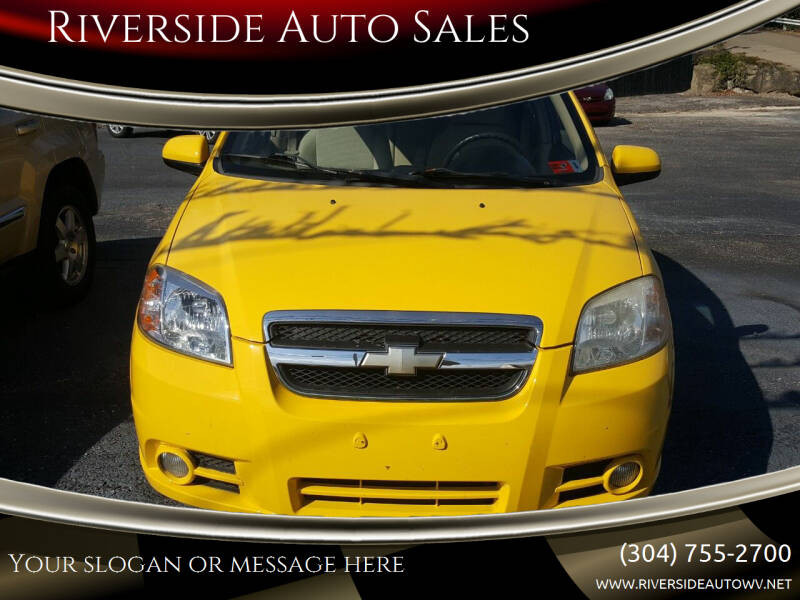 2009 Chevrolet Aveo for sale at Riverside Auto Sales in Saint Albans WV