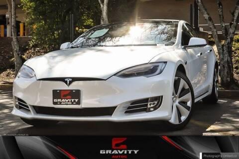 2021 Tesla Model S for sale at Gravity Autos Atlanta in Atlanta GA