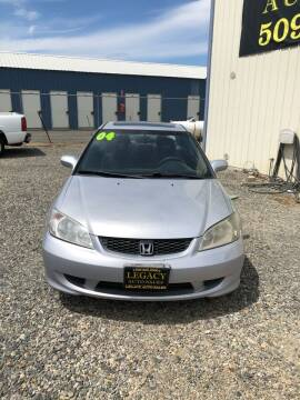 2004 Honda Civic for sale at Legacy Auto Sales in Toppenish WA