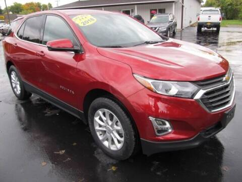 2018 Chevrolet Equinox for sale at Thompson Motors LLC in Attica NY