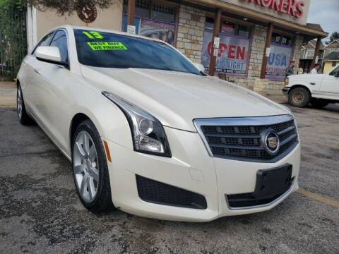 2013 Cadillac ATS for sale at USA Auto Brokers in Houston TX
