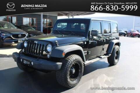 2015 Jeep Wrangler Unlimited for sale at Bening Mazda in Cape Girardeau MO