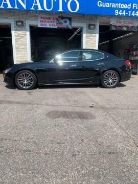 2017 Maserati Ghibli for sale at Caravan Auto in Cranston RI