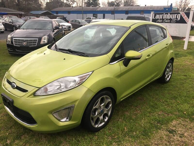 2012 Ford Fiesta for sale at LAURINBURG AUTO SALES in Laurinburg NC