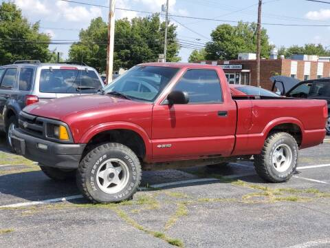 1996 Chevrolet S-10 for sale at Superior Auto Sales in Miamisburg OH