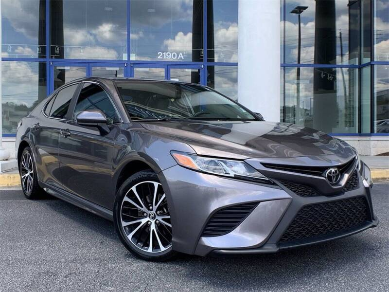 2019 Toyota Camry for sale at Capital Cadillac of Atlanta in Smyrna GA