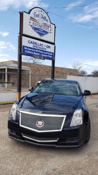 2013 Cadillac CTS for sale at East Dallas Automotive in Dallas TX