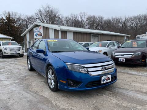 2012 Ford Fusion for sale at Victor's Auto Sales Inc. in Indianola IA